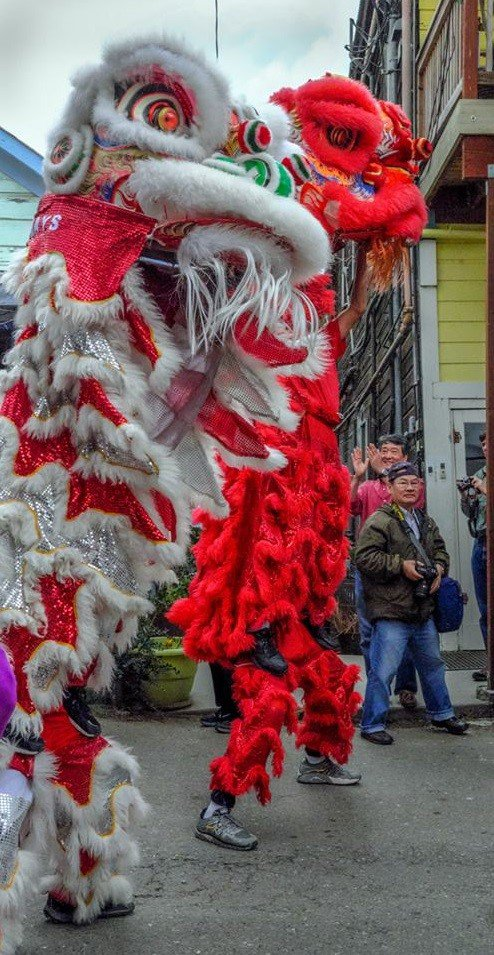 Eastern Ways, Lion Dancers